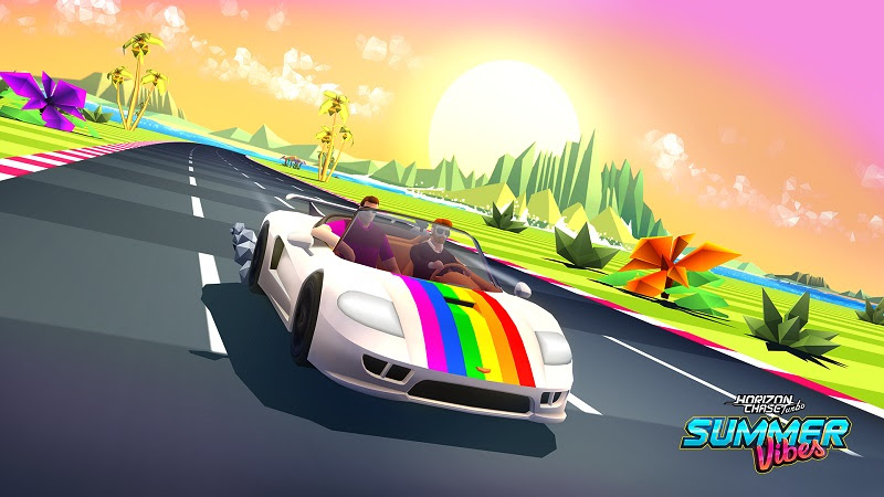 Llega Summer Vibes, el primer DLC de Horizon Chase Turbo - summer-vibes-pajera-moderna