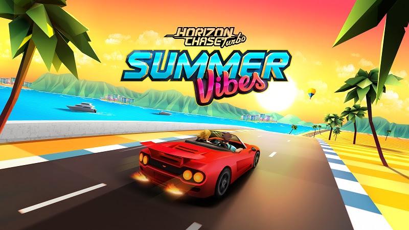 Llega Summer Vibes, el primer DLC de Horizon Chase Turbo - summer-vibes-800x450
