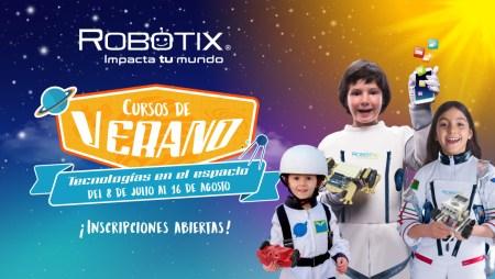 Cartelera de Cursos de Verano RobotiX 2019