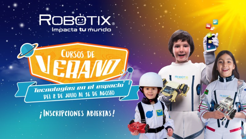 Cartelera de Cursos de Verano RobotiX 2019 - talleres-de-verano-robotix-2019-800x452