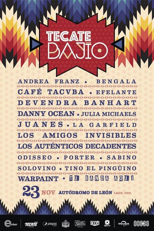 Aquí toda sobre el concurso Tu Banda Aquí Tecate Bajío - tecate-bajio-2019-533x800