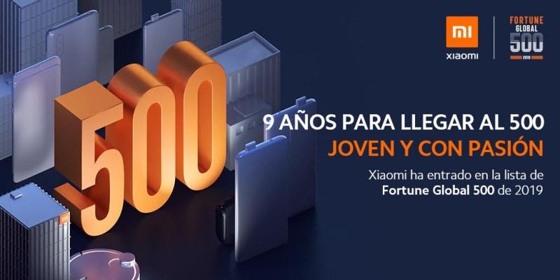 Xiaomi en la lista Fortune Global 500 por primera vez - xiaomi-lista-fortune-global-500-800x400