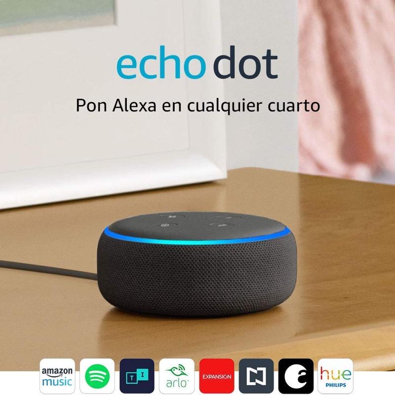 Los gadgets que no pueden faltar en este regreso a clases 2019 - echo-dot-bocina-inteligente
