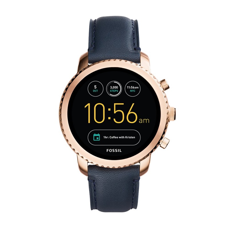 Los gadgets que no pueden faltar en este regreso a clases 2019 - fossil-ftw4002-smartwatch-digital-para-hombre