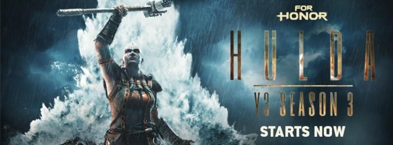 La edición estándar para PC de For Honor ¡Disponible gratis en Uplay! - hulda-800x296
