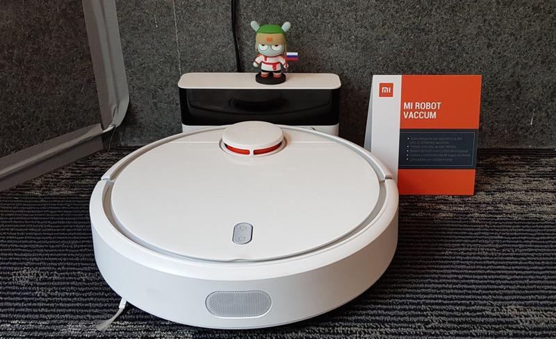 Loft inteligente de Xiaomi con MediaTek - mi-robot-vaccum-xiaomi-800x489