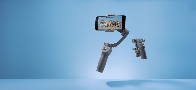 Osmo Mobile 3, nuevo estabilizador portátil de DJI ¡captura en calidad cinematográfica! - osmo-mobile-3-plegable