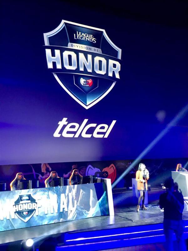 Telcel se convierte en patrocinador de la División de Honor de League of Legends - telcel-esports-honor