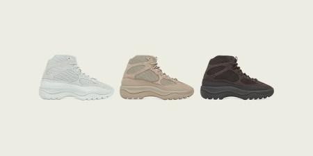adidas + KANYE WEST anuncian la llegada de YZY DSRT BT Salt, Rock y Oil