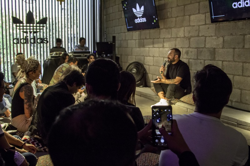 """Masterclass de Distrito adidas por Alejandro Franco """"la música como eje creativo"""" - distrito-adidas-por-alejandro-franco"""