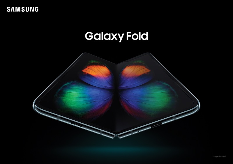 Galaxy Fold, el dispositivo plegable de Samsung ¡ya está disponible! - galaxy-fold-samsung-800x564
