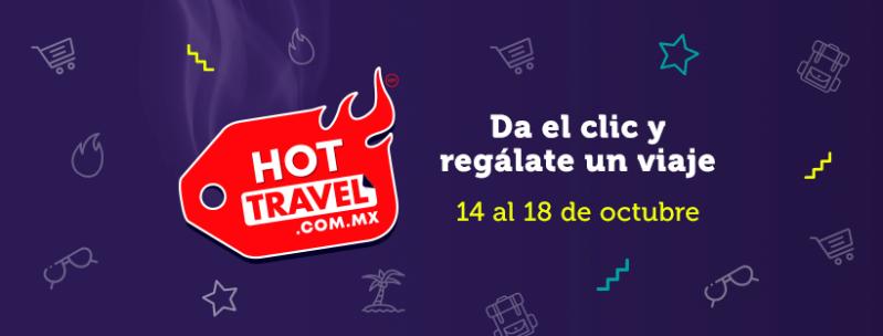 Anuncian la primera edición de Hot Travel, campaña de venta online en México enfocada a Viajes - hot-travel