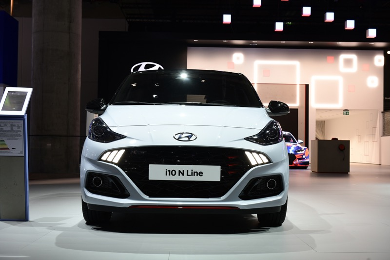 Hyundai Motor presenta el nuevo i10, en el Salón Internacional del Automóvil de Frankfurt (IAA) 2019 - hyundai_i10-n-line_2
