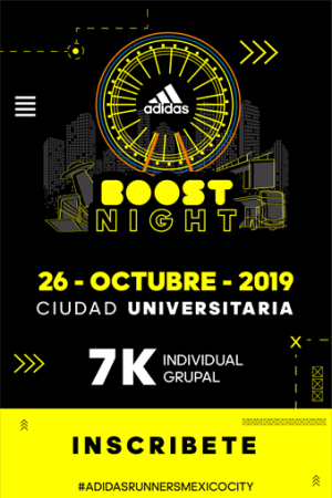 Ya están disponibles las inscripciones para adidas Boost Night 2019