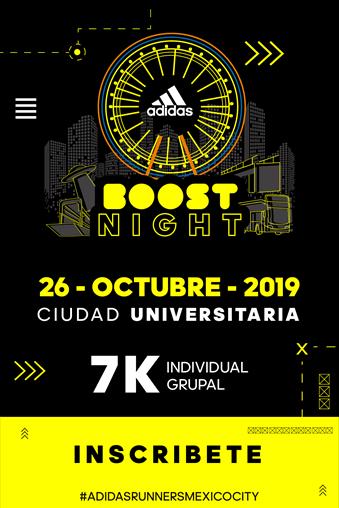 Ya están disponibles las inscripciones para adidas Boost Night 2019 - inscripciones-adidas-boost-night-2019