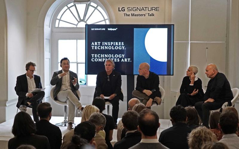 LG SIGNATURE exhibe combinación premium de arte y tecnología en el corazón de Londres - lg-signature-masters