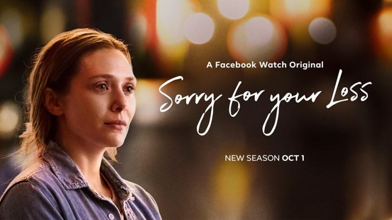 "Estreno de la segunda temporada de ""Sorry For Your Loss"" a través de Facebook Watch - sorry-for-your-loss"