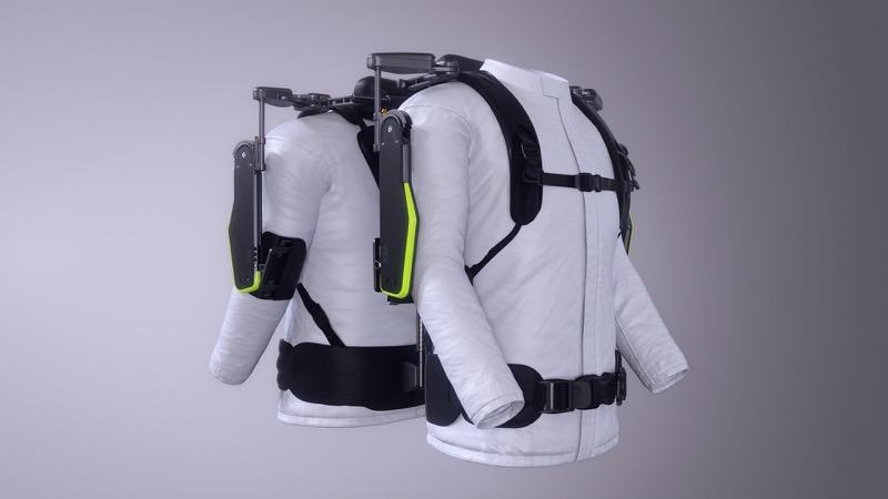 Hyundai desarrolla exoesqueleto, un chaleco portable para auxiliar la carga en el trabajo - vest-exoesqueleto-vex-hyundai-motor-group_1