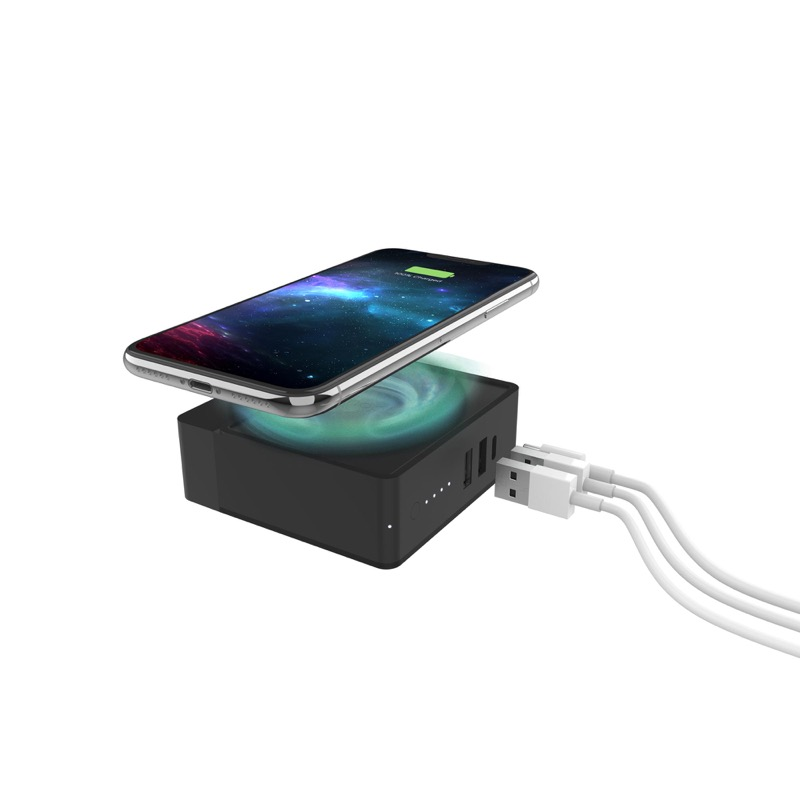 Mophie Powerstation Hub: batería portátil capaz de cargar hasta 4 dispositivos ¡al mismo tiempo! - 648_9_ps-hub_ipxs_hovering_3qtr-flat-cables_glow_2000px