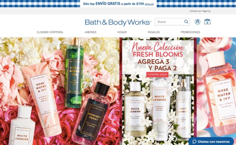 Bath & Body Works México lanza tienda en línea - bath-and-body-works-mexico