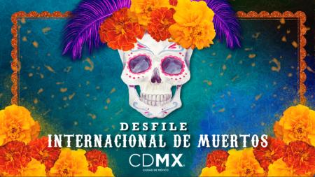 Poco, de Brawl Stars, prepara su guitarra para el Desfile de Día de Muertos de la Ciudad de México