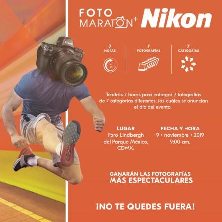 Fotomaratón+Nikon, competencia fotográfica en la Ciudad de México