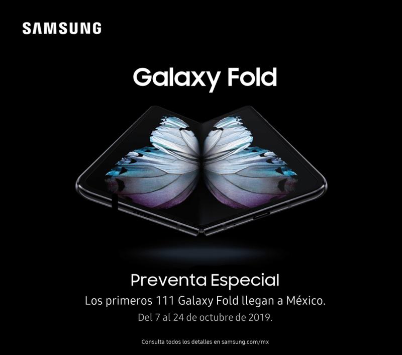 [Preventa] Galaxy Fold, el smartphone plegable de Samsung llega a México - galaxy-fold-el-primer-smartphone-plegable
