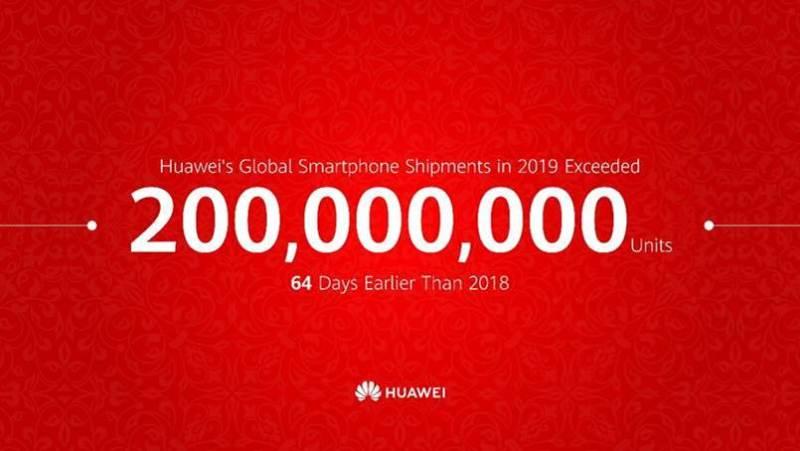 Huawei anuncia que en tiempo récord a comercializado 200 millones de smartphones - huawei-comercializa-200-millones-de-smartphones