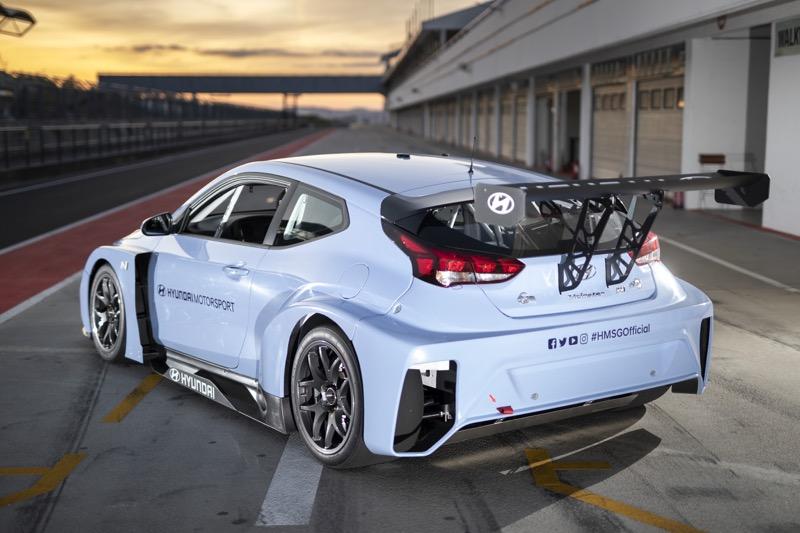 Hyundai Motorsport comienza a realizar pruebas con Veloster N ETCR - veloster-n-etcr-09