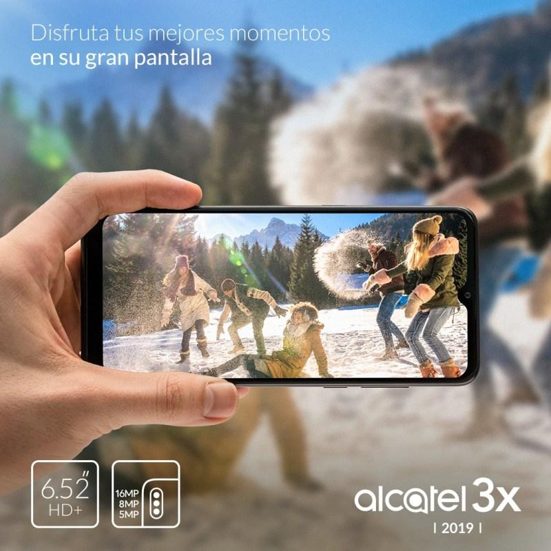 ¿Qué valoran más los consumidores en teléfonos de gama media? - alcatel-3x-2019