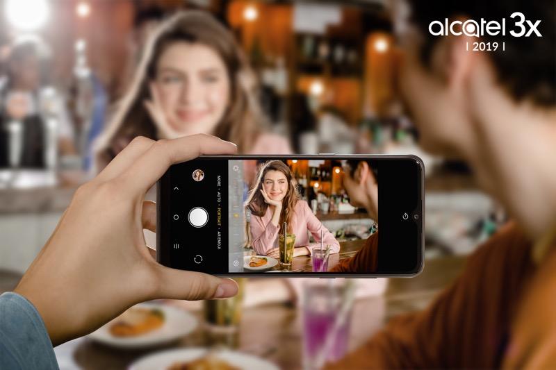 Alcatel 3X 2019 llega a México con triple cámara potenciadas con Inteligencia Artificial - alcatel-3x_2019