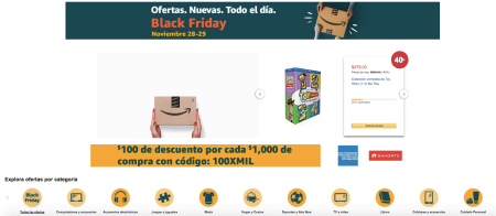 Las ofertas del Black Friday en Amazon México