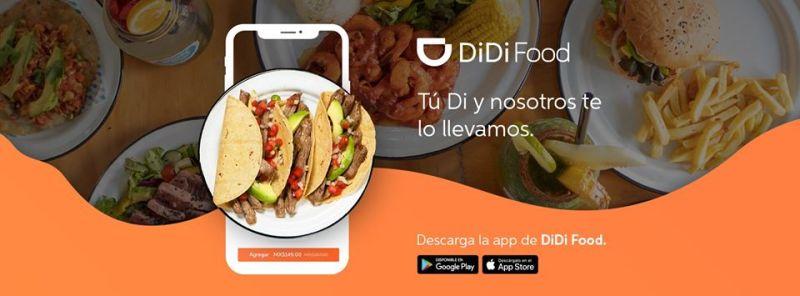 DiDi Food llega a Ciudad de México ¡con tarifas de entrega más bajas del mercado! - app-didi-food