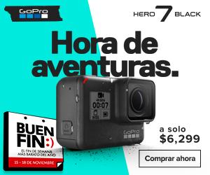 GoPro en el Buen Fin ¡Conoce las ofertas que tiene para ti! - hero-7-black-gopro