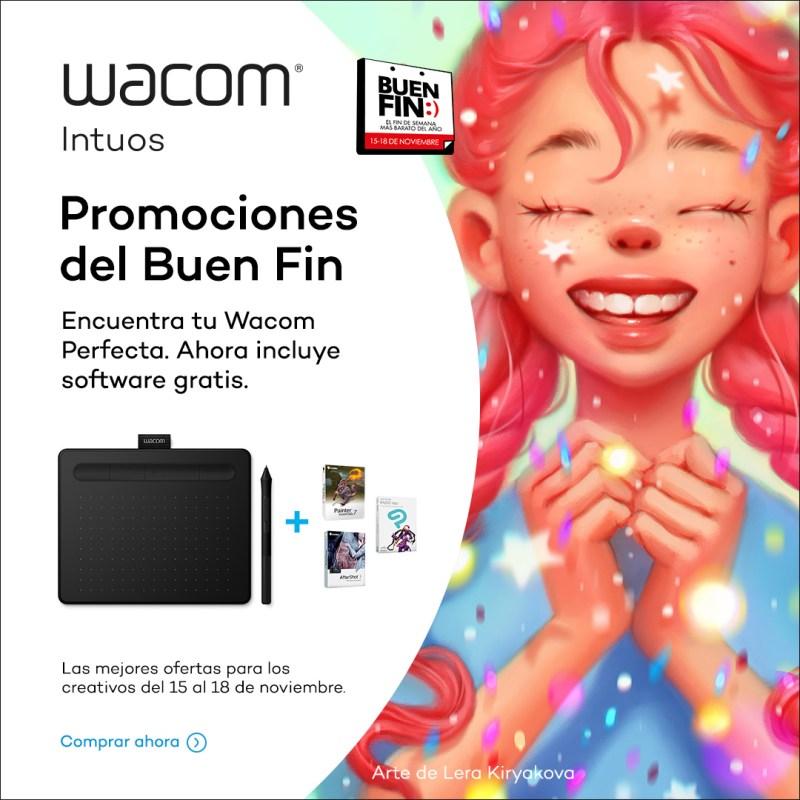 Wacom en el Buen Fin ¡conoce sus promociones! - intuossmall_bt_mexico_buenfin_igad_nov2019_es_1080x1080