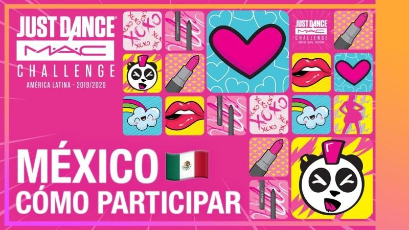 Participar en el Just Dance MAC Challenge y representar a México en Brasil! - just-dance-mac-challenge-mexico-800x450