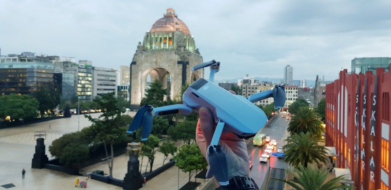 Mavic Mini, el dron más pequeño de DJI es presentando en la Cuidad de México - mavic-mini-dji