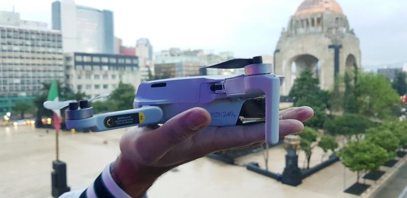 Mavic Mini, el dron más pequeño de DJI es presentando en la Cuidad de México - mavic-mini_dji