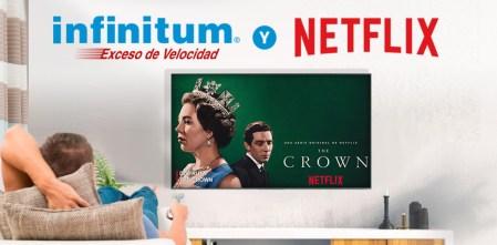 Telmex lanza nuevos paquetes Infinitum con suscripción a Netflix