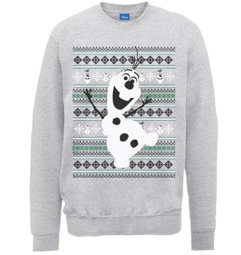 Los ugly sweaters más ugly para tu reunión Godínez - ugly_sweaters_frozen