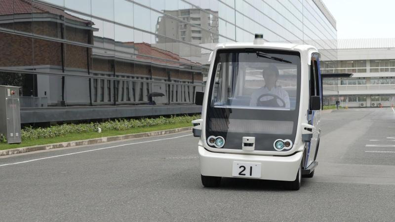Vehículos autónomos para personal dentro de Panasonic en Japón - vehiculos-autonomos-panasonic-japon_1