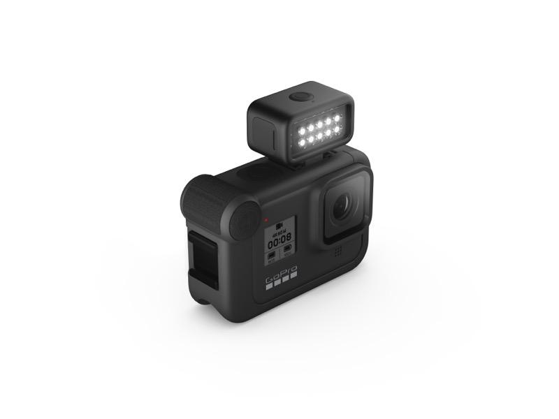 Nuevo GoPro Light Mod, luz autónoma resistente al agua y recargable - 39827430_hero8_black_light_mod_threequarter_master-800x600