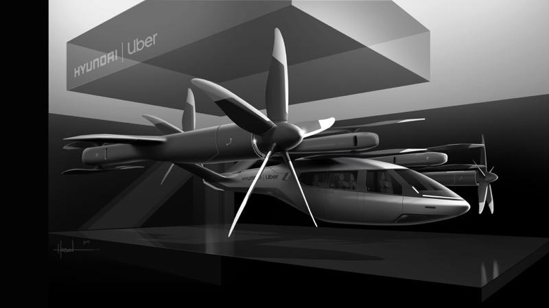 CES 2020: Hyundai y Uber anuncian su alianza y lanzan un nuevo modelo de taxi aéreo - ces-2020-hyundai-y-uber-taxi-aereo_1