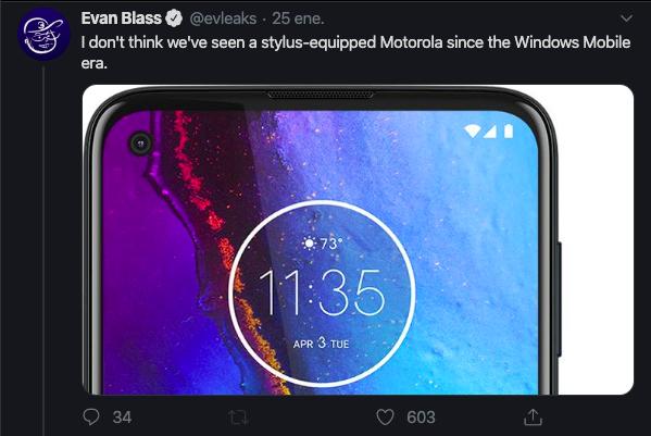 Motorola incorporará un stylus en su próximo smartphone - image