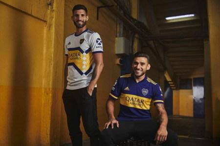 adidas presenta los nuevos jerseys de Boca Juniors