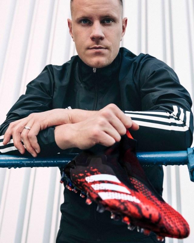 Predator 20 Mutator, el primer calzado en incorporar DEMONSKIN de Adidas - marc-andre-ter-stegan-2