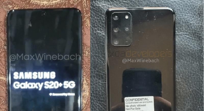 Este es el Samsung Galaxy S20+, se filtran sus primeras fotos - samsug-galaxy-s20-leak