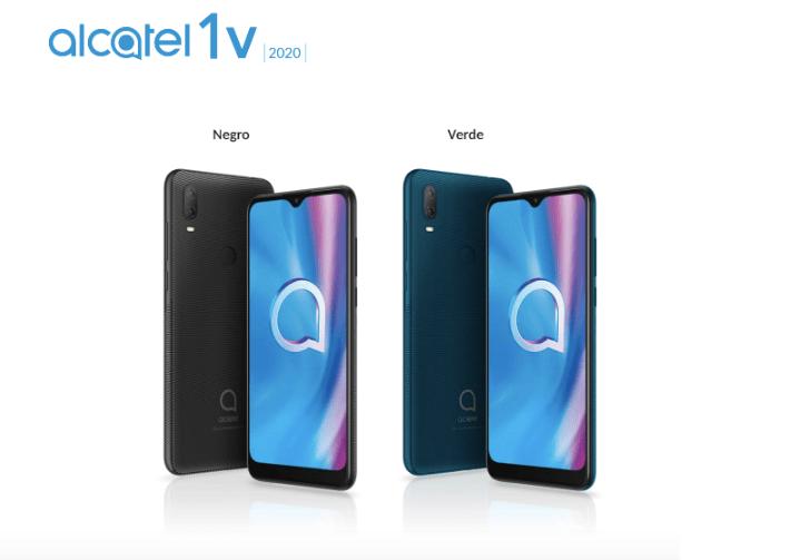Alcatel presenta su última gama de productos en CES 2020 - smartphone-alcatel-1v-2020