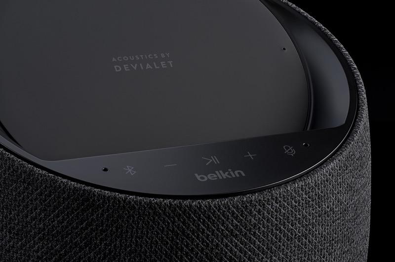 CES 2020: Belkin y Devialet presentan altavoz inteligente de alta fidelidad con carga inalámbrica - soundform-elite-hi-fi-smart-speaker-wireless-charger_1