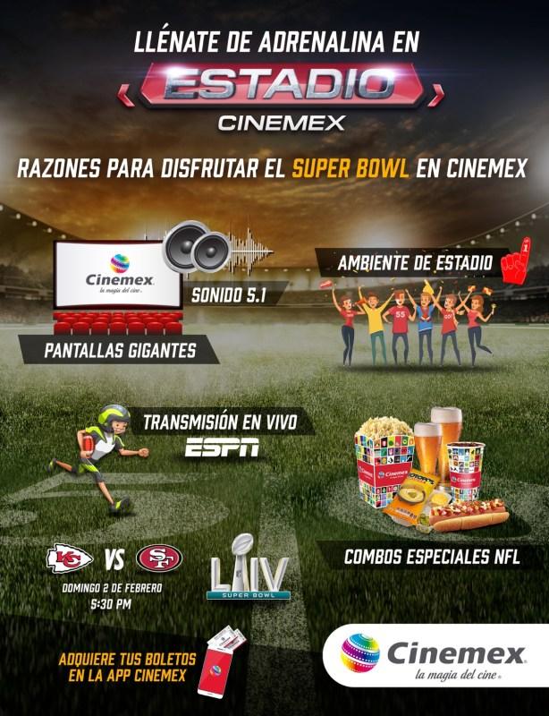 6 razones para disfrutar el Super Bowl en el cine - super-bowl-en-el-cine